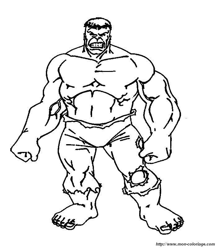 Hulk Bilder Zum Ausmalen: Ausmalbilder Hulk, Bild 016