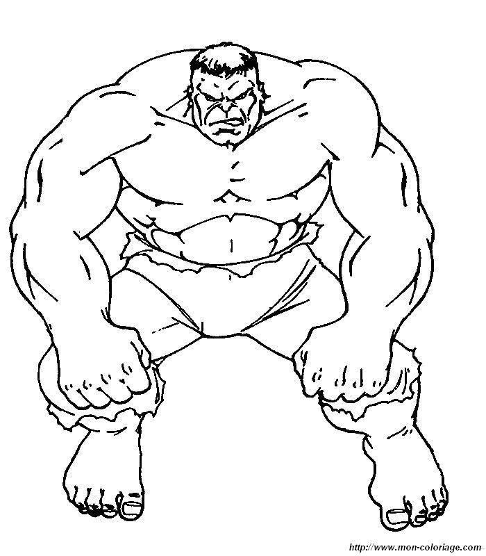 Hulk Bilder Zum Ausmalen: Ausmalbilder Hulk, Bild 020