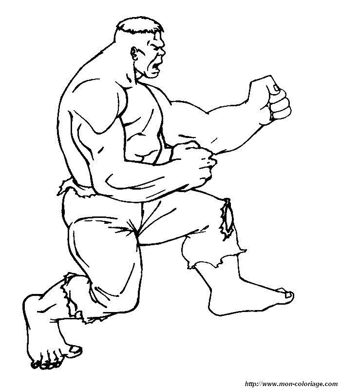 Hulk Bilder Zum Ausmalen: Ausmalbilder Hulk, Bild 025