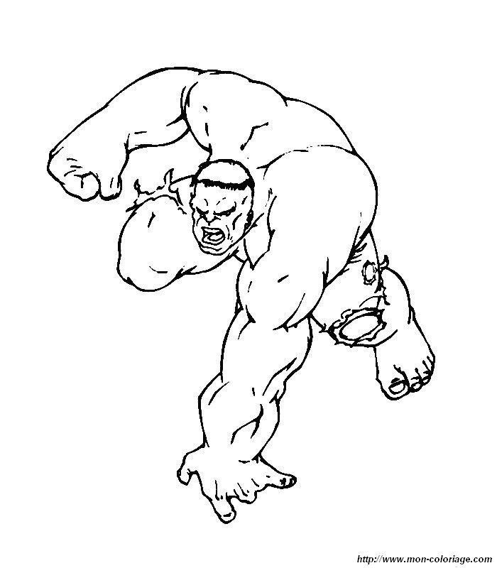 Hulk Bilder Zum Ausmalen: Ausmalbilder Hulk, Bild 028