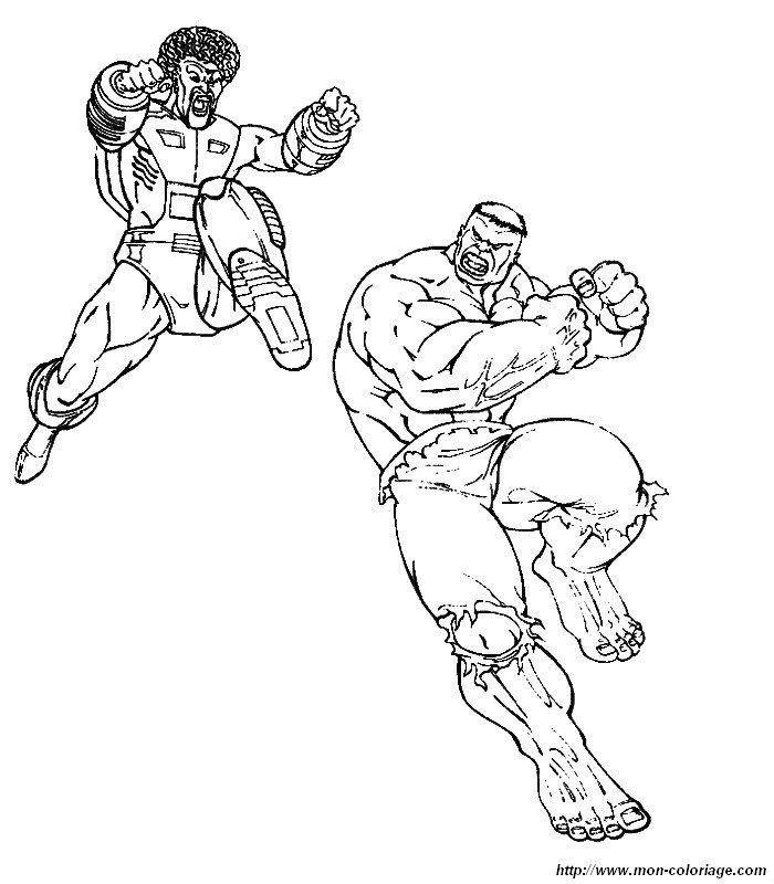 Hulk Bilder Zum Ausmalen: Ausmalbilder Hulk, Bild 030