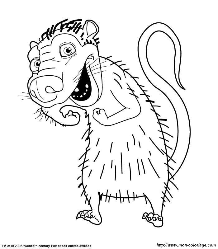 Ice Age Coloring Pages Online