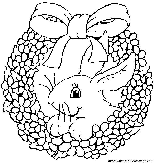 ausmalbilder kaninchen bild kaninchen 0011