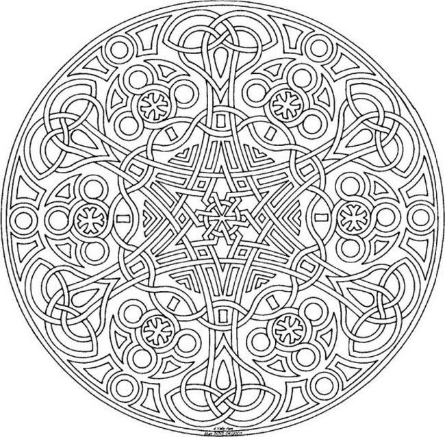 Ausmalbilder Mandalas, bild Mandalas zum Ausdrucken