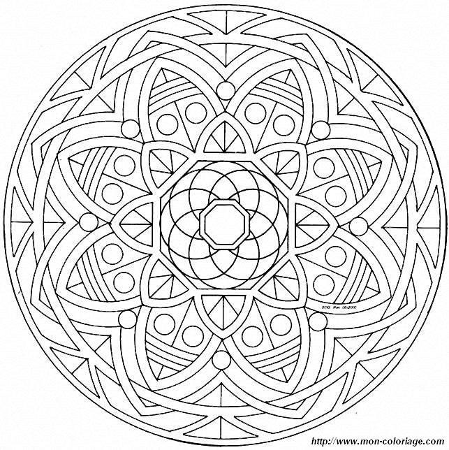 Ausmalbilder Mandalas Bild Mandalas Mandalas61a75 003