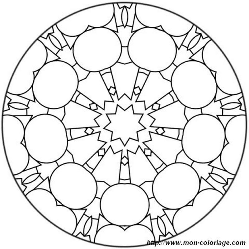 ausmalbilder mandalas bild mit bowling pins