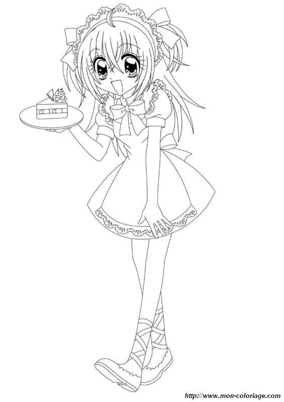 Ausmalbilder Manga Bild Kilari Gutaussehend