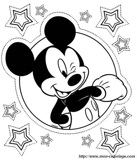 Ausmalbilder Micky Maus Bild Micky Maus 1