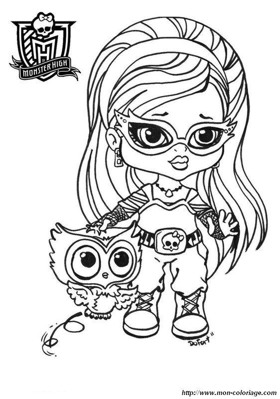 Berühmt Monster Hoch Malvorlagen Baby Cleo Ideen - Beispiel ...