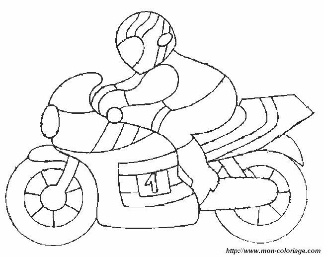 ausmalbilder motorrad bild motorrad 1