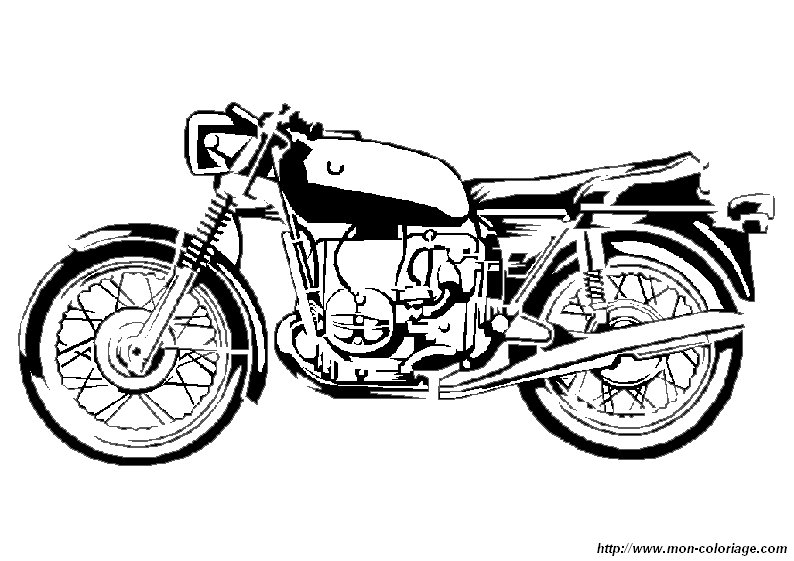 ausmalbilder motorrad bild motorrad ausmalen