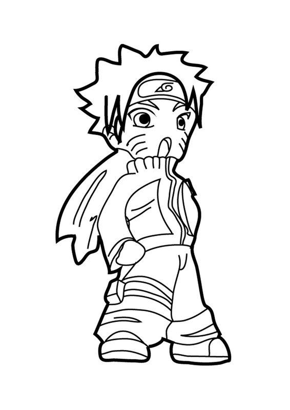Ausmalbilder Naruto Bild Naruto Chibi