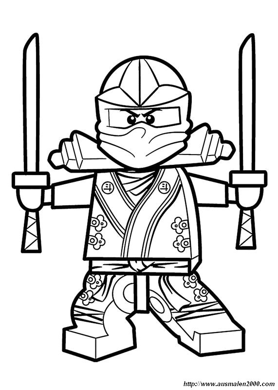 Www Nija Coloring Pages
