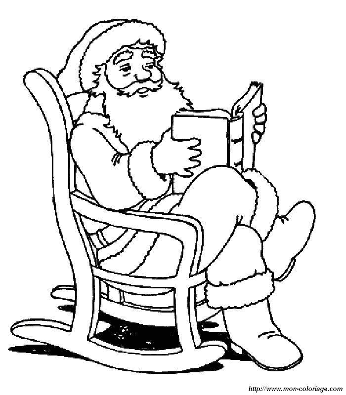 Großartig Ausmalbilder Von Santa Fotos - Ideen färben - blsbooks.com