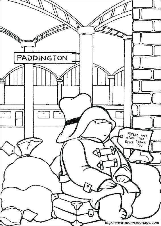 Paddington 2 >> Ausmalbilder Paddington Bär, bild paddington bar 04
