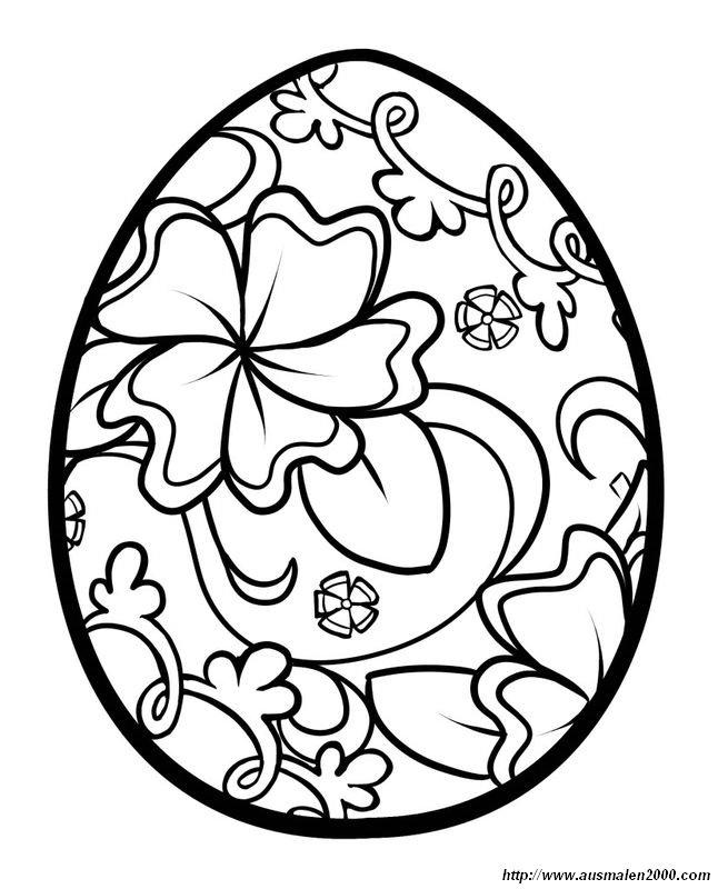 Ausmalbilder Ostern, bild Ostern Ausmalbilder