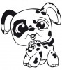 Littlest Pet Shop Hund