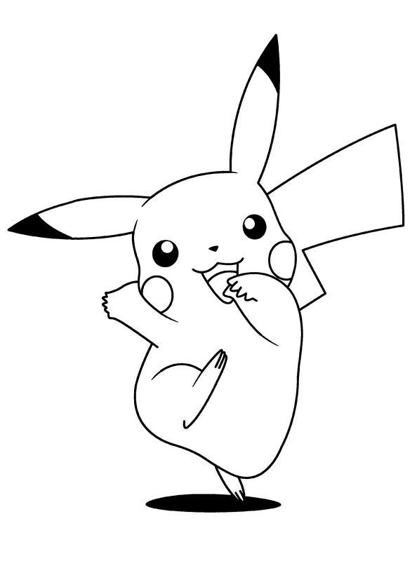 Ausmalbilder Pokémon Bild Ausmalbilder Pikachu Electus Pikachus