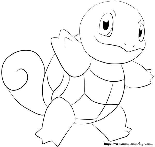 Ausmalbilder Pokémon Bild Schiggy
