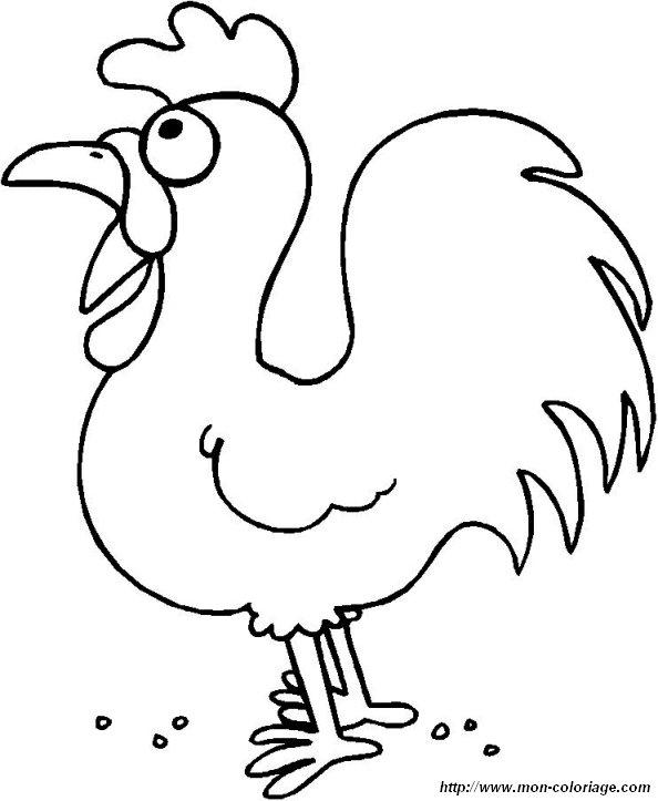 ausmalbilder hühner bild eine henne 17