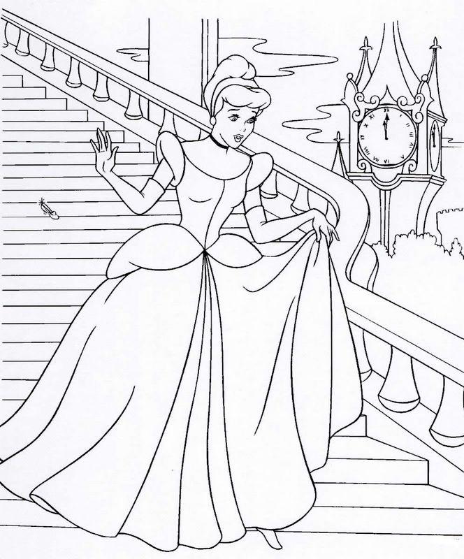 Ausmalbilder Prinzessin Und Prinz Bild Cinderella Ausmalbilder