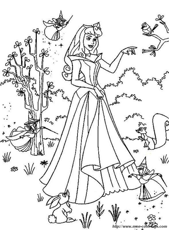 Ausmalbilder Prinzessin Und Prinz Bild Dornroschen Prinzessin