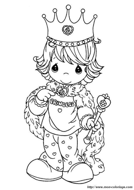 My Precious Moments Coloring Pages
