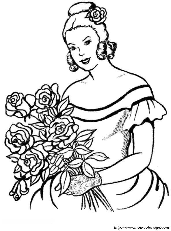 Ausmalbilder Prinzessin Und Prinz Bild Prinzessin Und Blumen