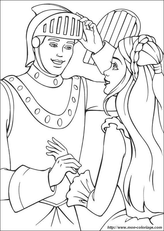 Ausmalbilder Prinzessin Und Prinz Bild Ritter Und Prinzessin