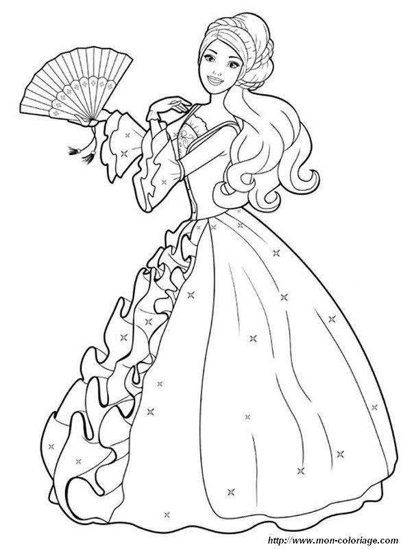 Malvorlagen Prinzessin Kleider | My blog