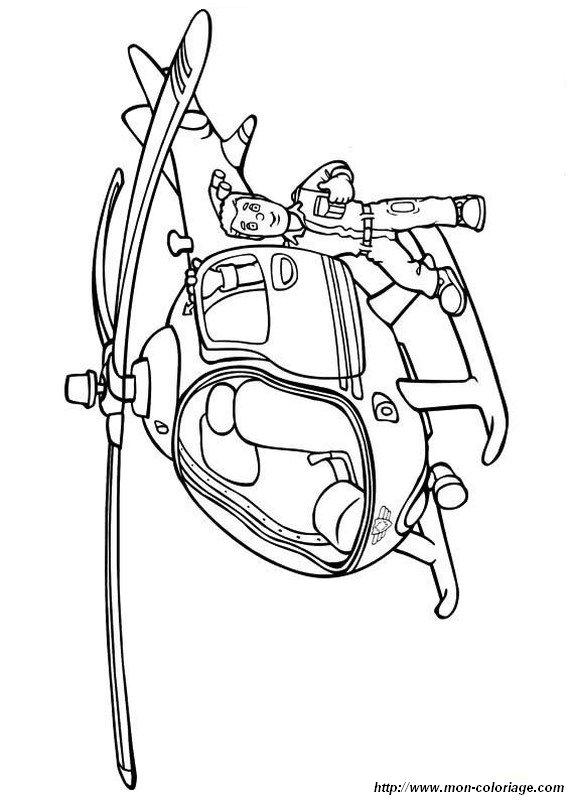 Ausmalbilder Feuerwehrmann Sam Bild Feuer Hubschrauber