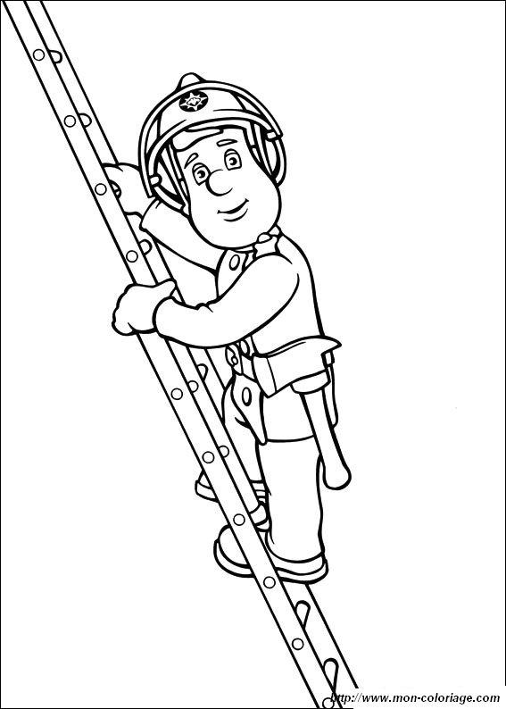Ausmalbilder Feuerwehrmann Sam Bild Sam 9583