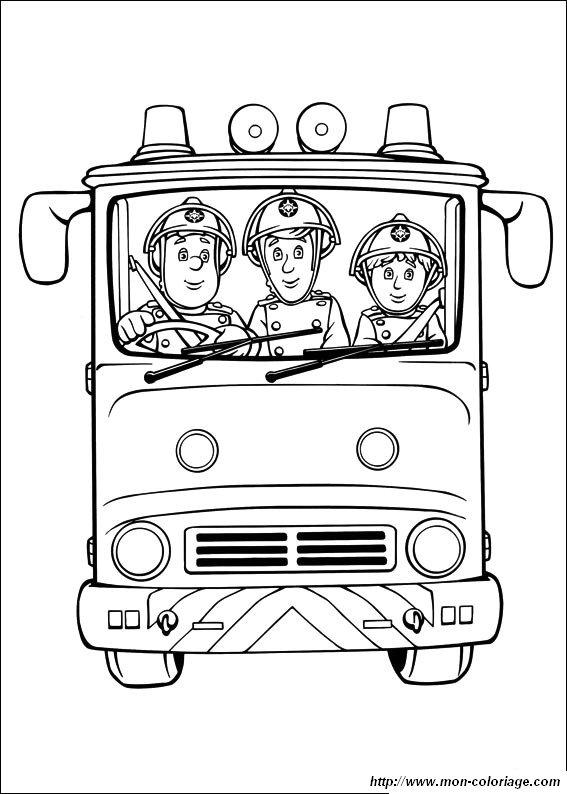 Ausmalbilder Feuerwehrmann Sam Bild Sam Feuerwehrmann 1