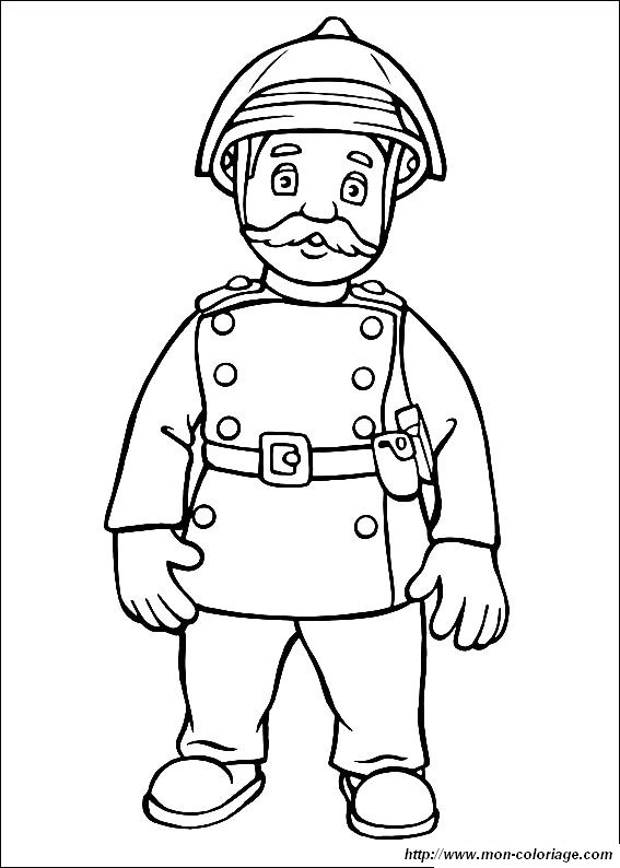 Ausmalbilder Feuerwehrmann Sam, bild sam feuerwehrmann malvorlagen