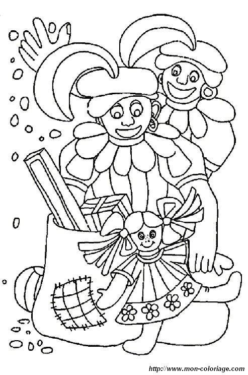 ausmalbilder der weihnachtsmann bild santa claus 14