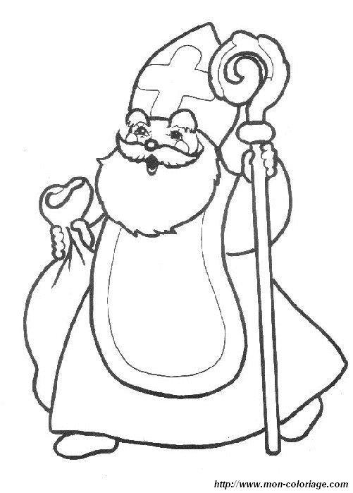 ausmalbilder der weihnachtsmann bild santa claus 18