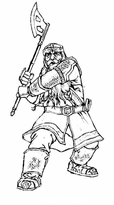 hobbit character coloring pages - photo#21