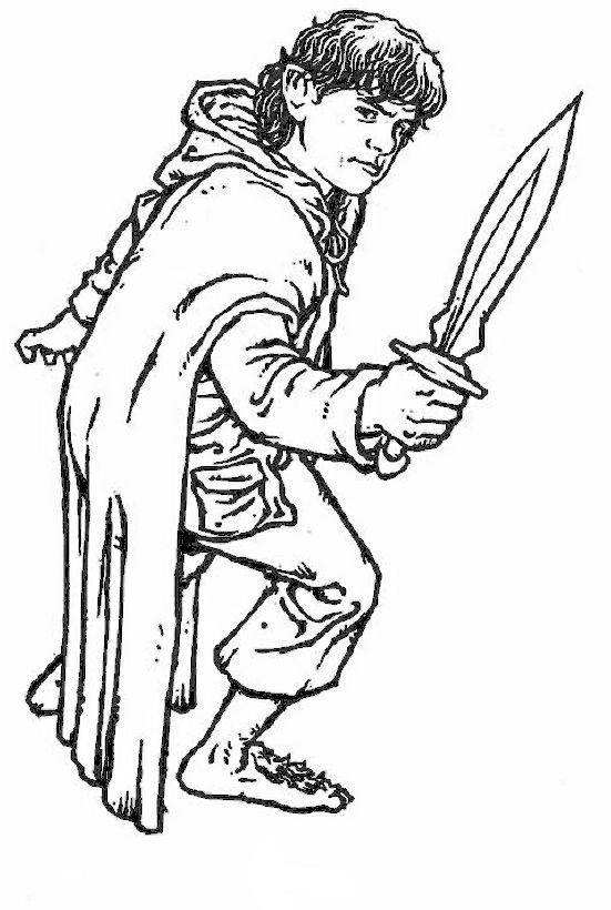 Ausmalbilder Der Herr Der Ringe Bild Sam Freund Von Frodo