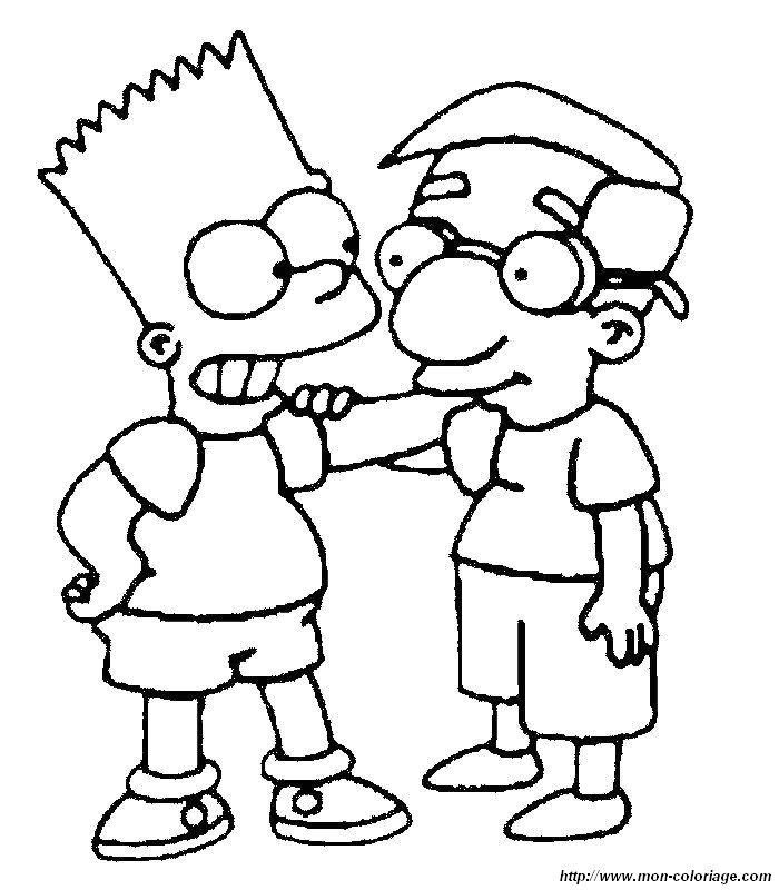 Ausmalbilder Die Simpsons, bild simpsons 04