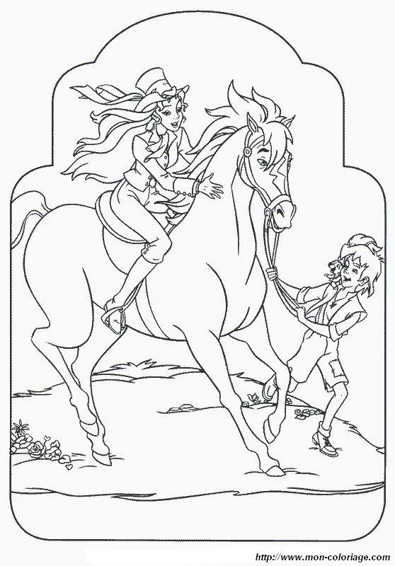 Ausmalbilder Sissi Bild Mit Einem Schonen Pferd