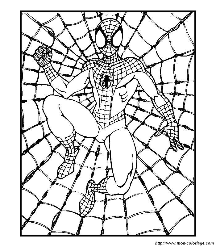 Ausmalbilder Spiderman, bild 018