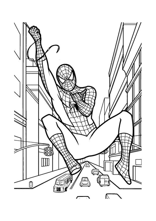 malvorlagen spiderman kinder  kinder zeichnen und ausmalen