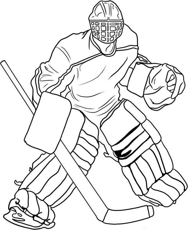 Malvorlagen Eishockey Ausmalen Kostenlose Malvorlagen