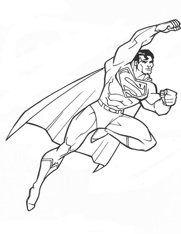 gratis malvorlagen superman kostenlose malvorlagen und