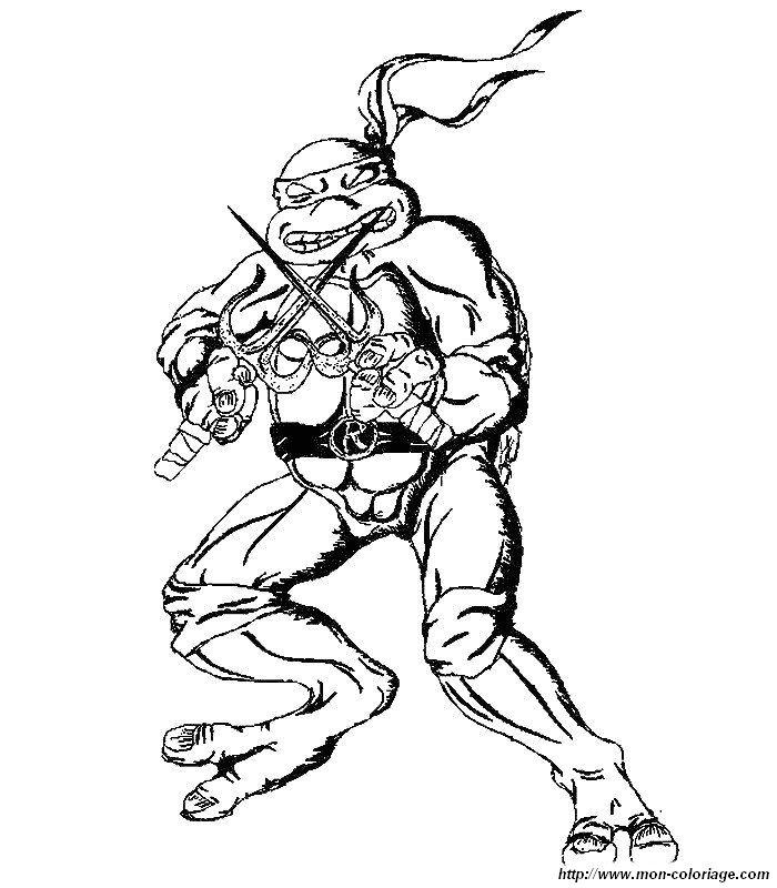 ausmalbilder teenage mutant ninja turtles bild 006