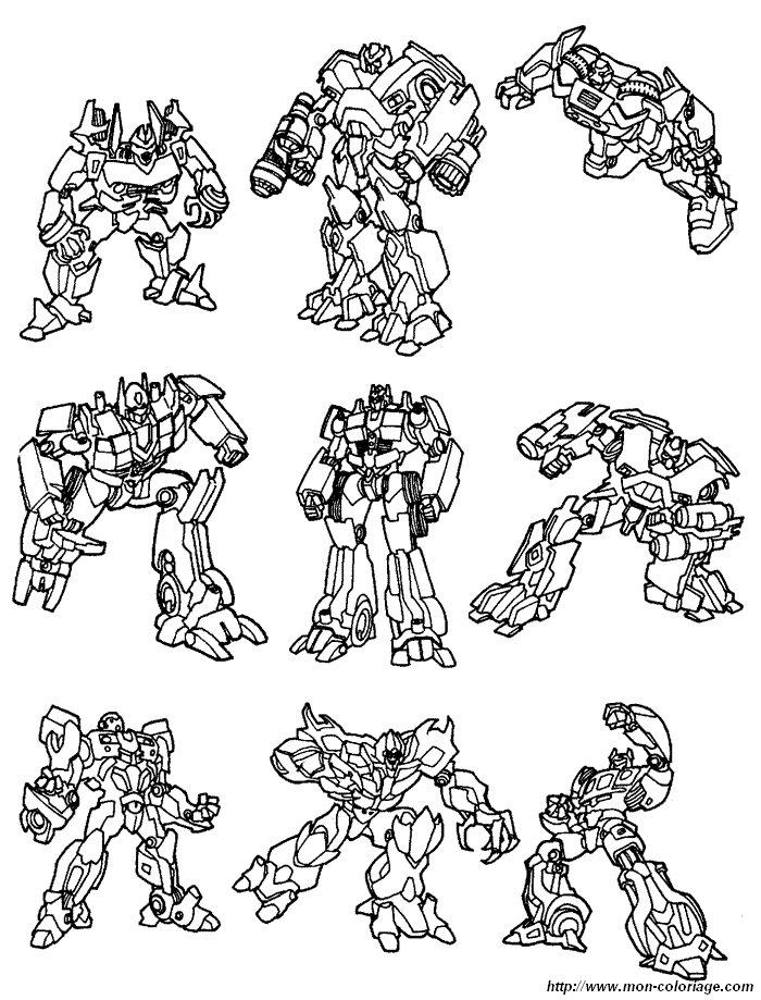 transformers bilder zum ausmalen