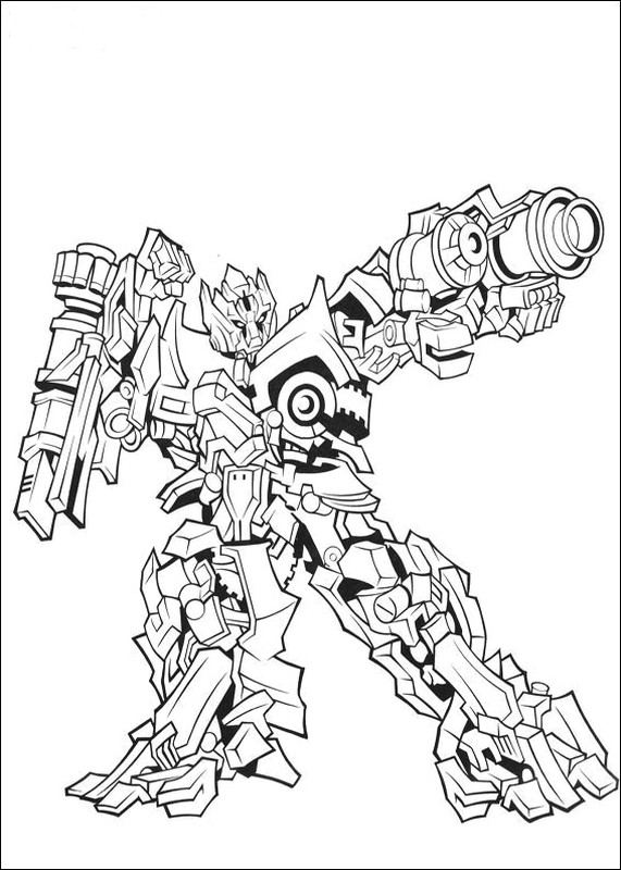 ausmalbilder transformers bild roboter transformers