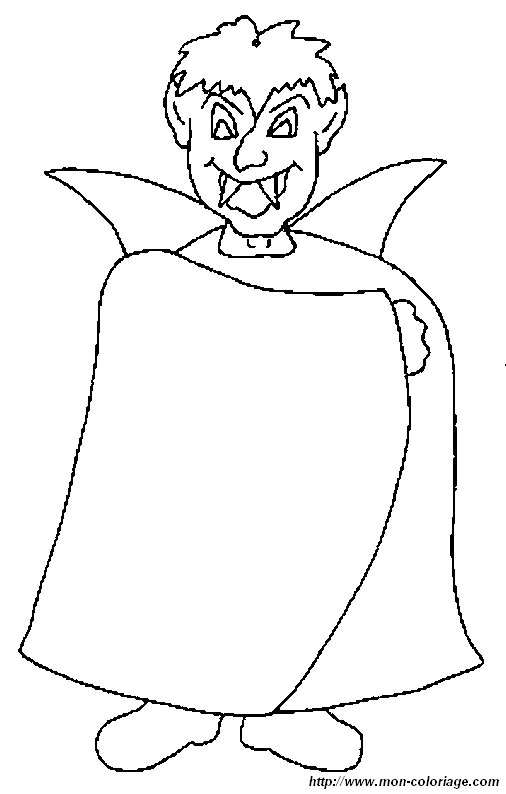 Ausmalbilder Vampir Bild Vampir 4