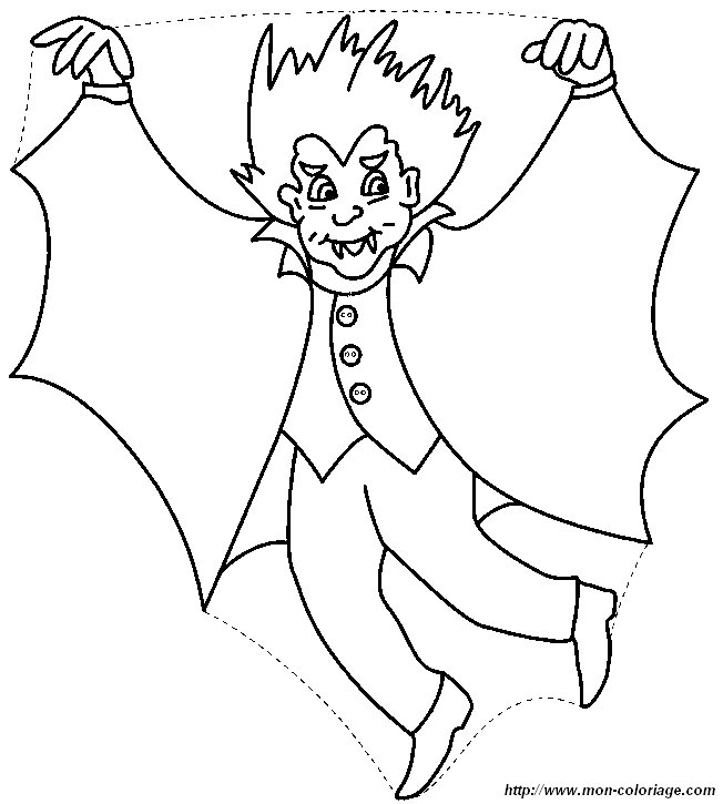 Ausmalbilder Vampir Bild Vampir 10