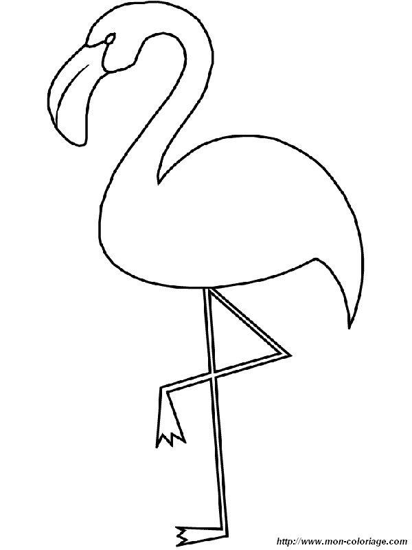 pin zum ausmalen flamingo bild zum ausmalen flamingo zum ausmalen s er on pinterest. Black Bedroom Furniture Sets. Home Design Ideas